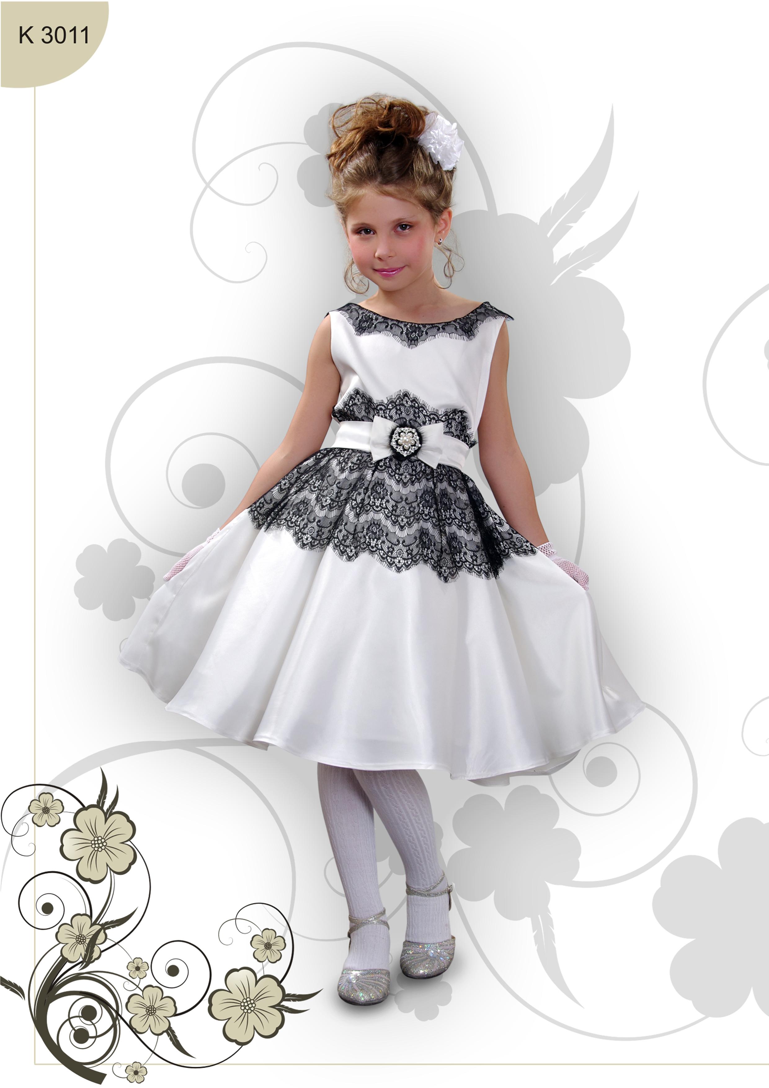 Коктейльное платье своими руками для девочки